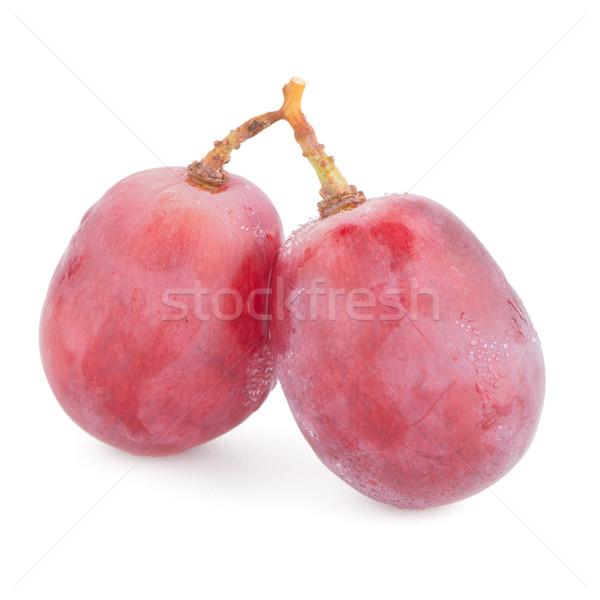 Red grape Stock photo © homydesign