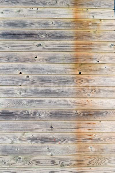Rustik yıpranmış ahır ahşap bağbozumu tırnak Stok fotoğraf © homydesign