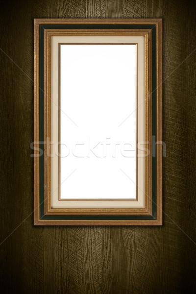 vieux cadre photo vintage bois mur texture photo stock homydesign 4682646. Black Bedroom Furniture Sets. Home Design Ideas