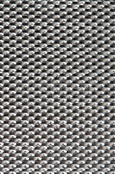 Metal mesh plating isolated against a white background Stock photo © homydesign