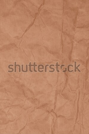 Crumpled recycled paper Stock photo © homydesign