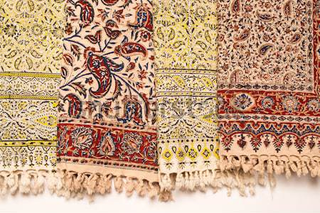 Iranian carpets and rugs Stock photo © homydesign