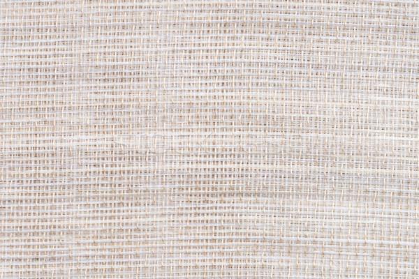 Beige canvas texture  Stock photo © homydesign