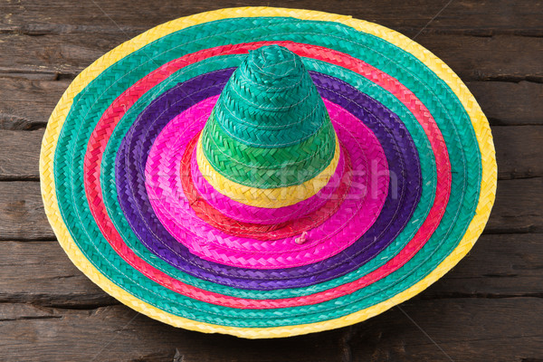 Mexican background Stock photo © homydesign