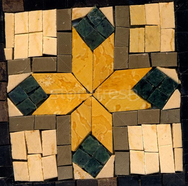 Geometrical colorful mosaic Stock photo © homydesign