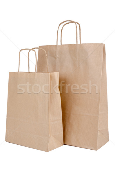 Shopping paper bags Stock photo © homydesign
