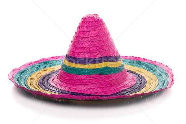 Colorful mexican sombrero Stock photo © homydesign