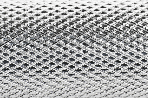 Metal mesh plating Stock photo © homydesign
