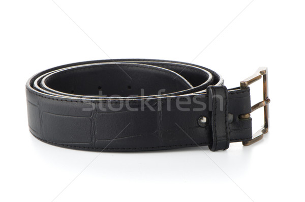 Leather belt Stock photo © homydesign
