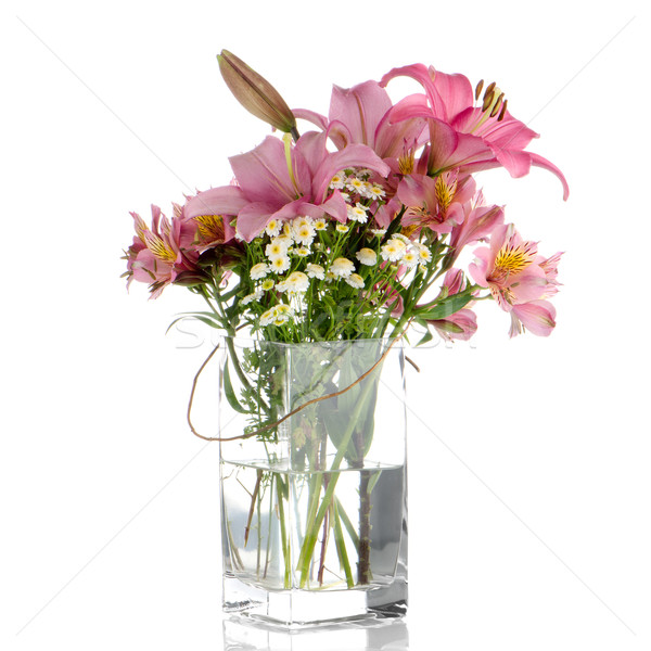 Bouquet of various flowers Stock photo © homydesign