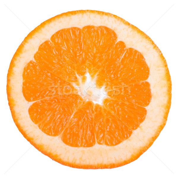 Orange slice Stock photo © homydesign