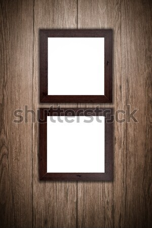 Old picture frame Stock photo © homydesign