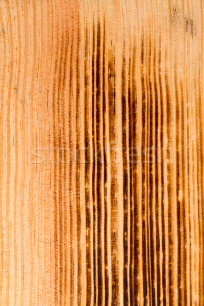 Burned pine wood background Stock photo © homydesign