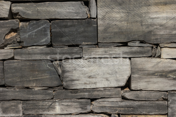 Pattern gray color wall Stock photo © homydesign