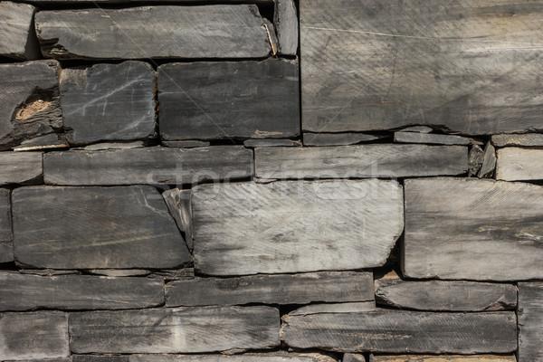 Foto stock: Padrão · cinza · cor · parede · estilo · moderno · projeto