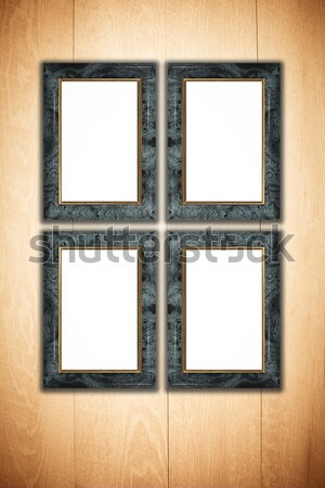 Photo or painting frame Stock photo © homydesign