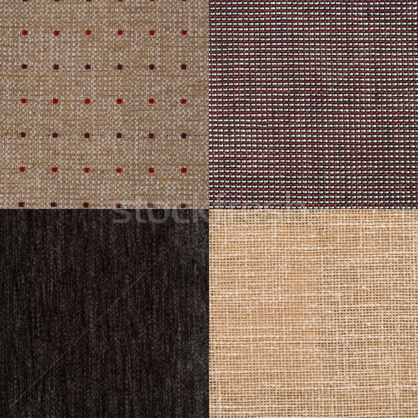 Brun tissu texture mode Photo stock © homydesign