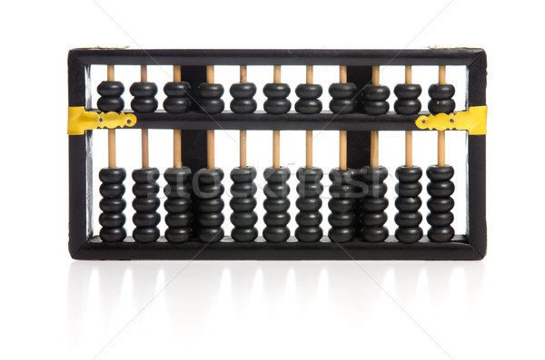 Old wooden abacus Stock photo © homydesign