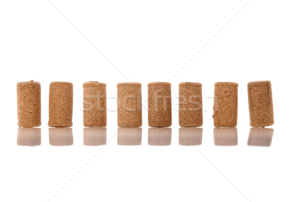 Corks from bottles guilt Stock photo © homydesign
