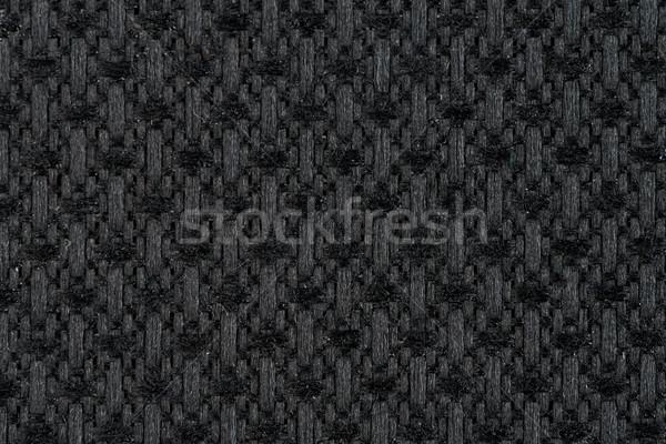 Black fabric texture  Stock photo © homydesign