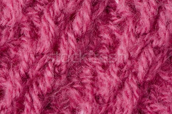 розовый трикотажный шерсти текстуры можете аннотация Сток-фото © homydesign