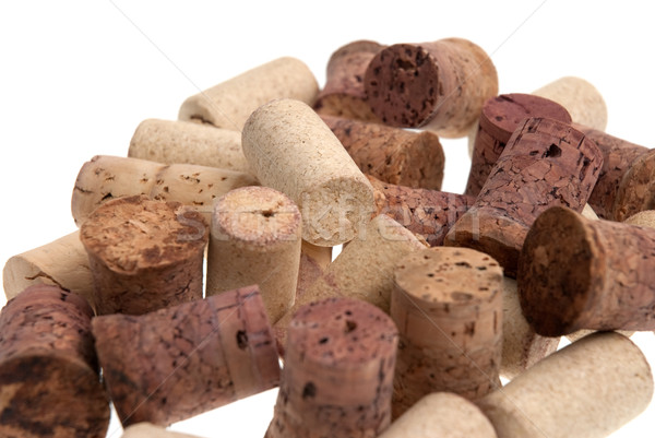 Used corks from bottles guilt Stock photo © homydesign