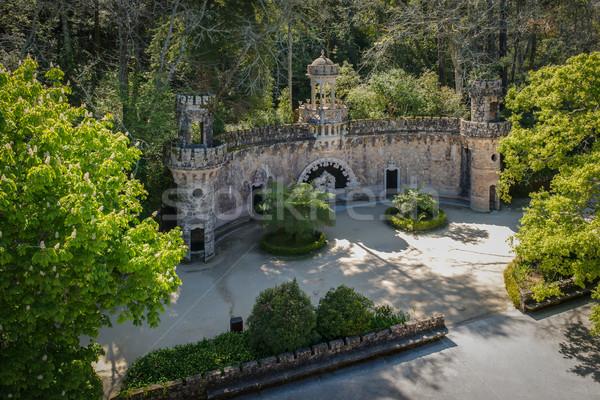 Quinta da Regaleira  Stock photo © homydesign