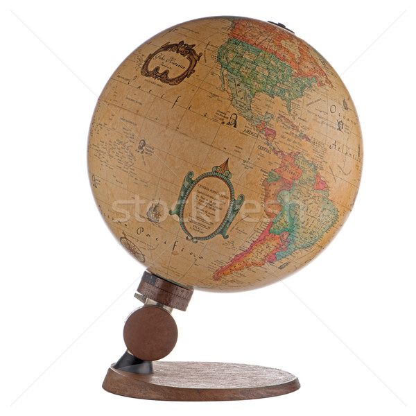Old globe Stock photo © homydesign