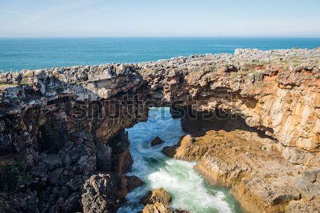Coastline of Cascais Stock photo © homydesign