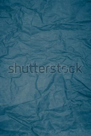 синий текстуру бумаги подробность белый кадр Сток-фото © homydesign