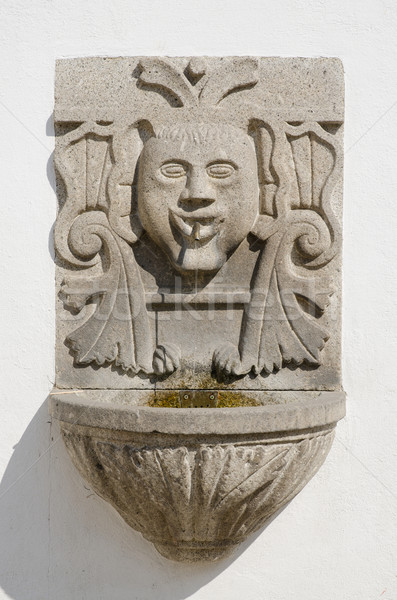 Granite fountain Stock photo © homydesign