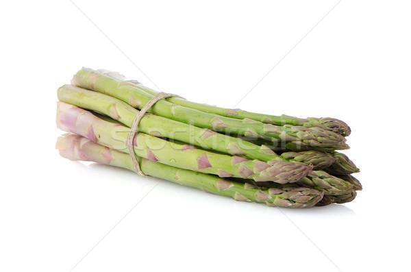 Fresh green asparagus Stock photo © homydesign