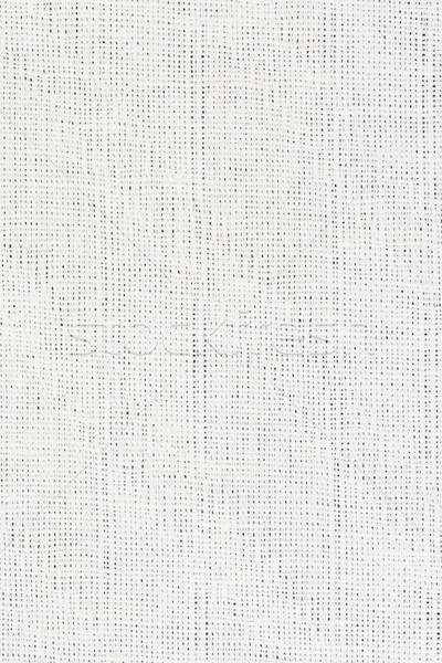 Witte weefsel textuur detail abstract Stockfoto © homydesign
