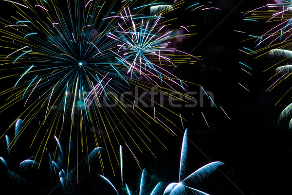 Fireworks Stock photo © homydesign