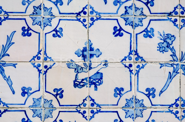 Ceramic tile design Stock photo © homydesign