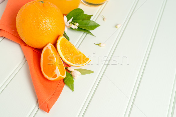 Citrus fresh fruits Stock photo © homydesign