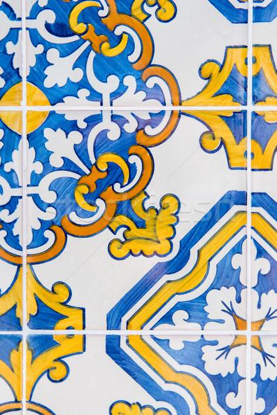 Portuguese tiles Stock photo © homydesign