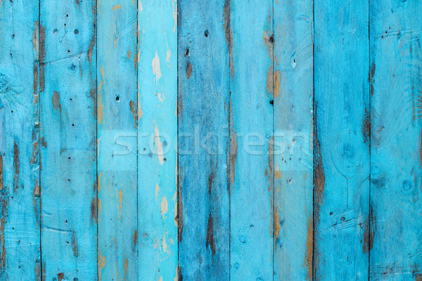 Blue wooden panel Stock photo © homydesign