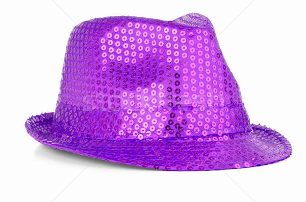 Paillette hat Stock photo © homydesign