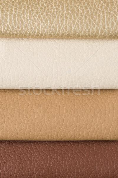 Leather sampler  Stock photo © homydesign