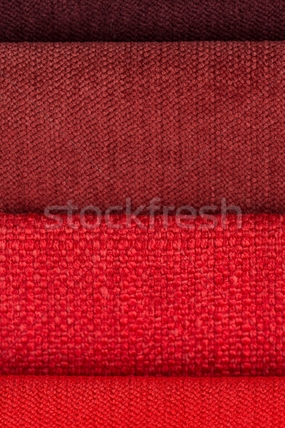Red fabric Stock photo © homydesign
