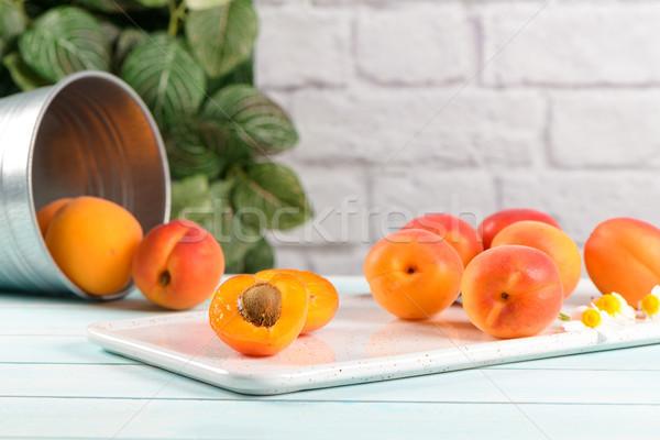 フルーツ 木製 金属 ストックフォト © homydesign