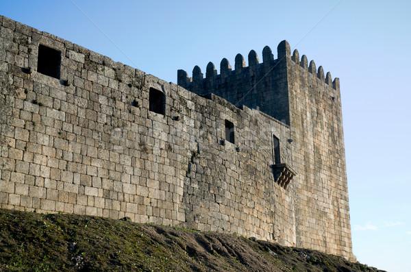 Belmonte Castle in Portugal Stock photo © homydesign