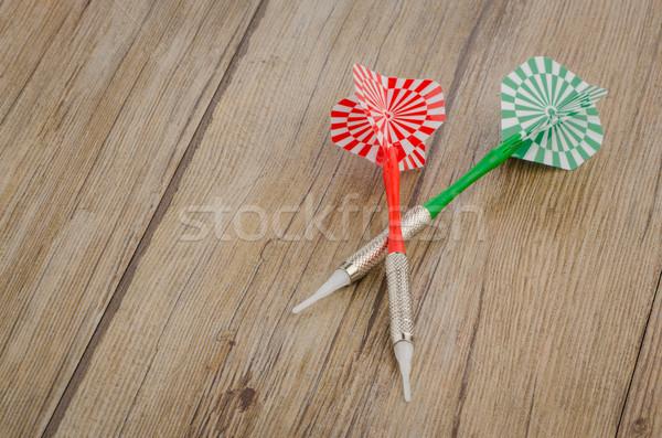 Two arrows darts Stock photo © homydesign