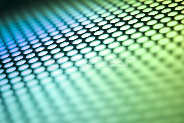 Metalic backlit shinny background Stock photo © homydesign