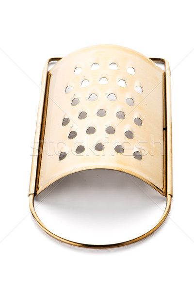 Golden colored metal scraper Stock photo © homydesign