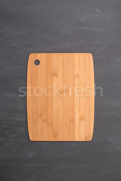 木材 まな板 黒 黒板 テクスチャ デザイン ストックフォト © homydesign