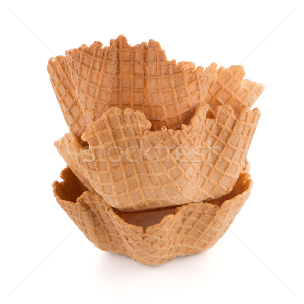 Wafer cups Stock photo © homydesign
