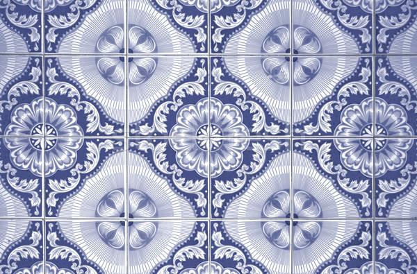 Ornamental old tiles Stock photo © homydesign