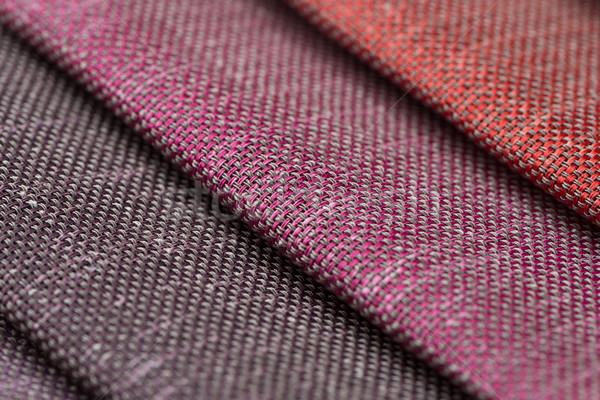 Fabric samples Stock photo © homydesign